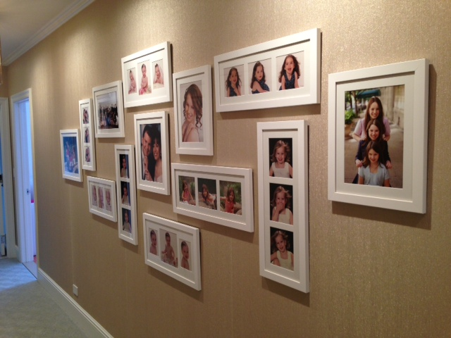 A recent example of an ILevel family photo wall.