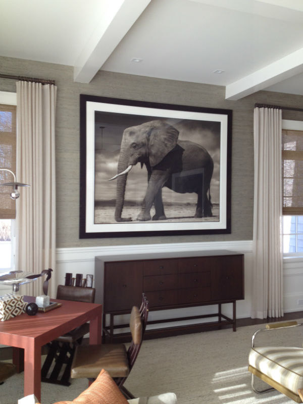 how to hang large art Archives