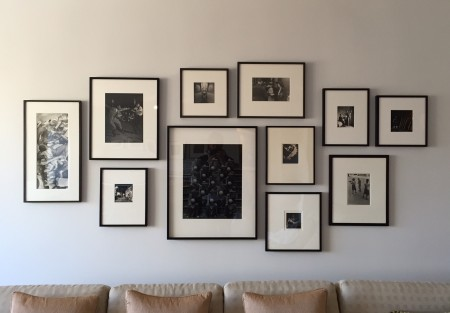Arrange Art Above Sofa